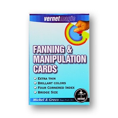 Fanning & Manipulation cards (4 color) Vernet - Trick