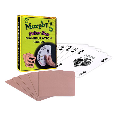 Manipulation Cards(POKER SIZE/ FLESH COLOR BACKS)by Trevor Duffy-Trick