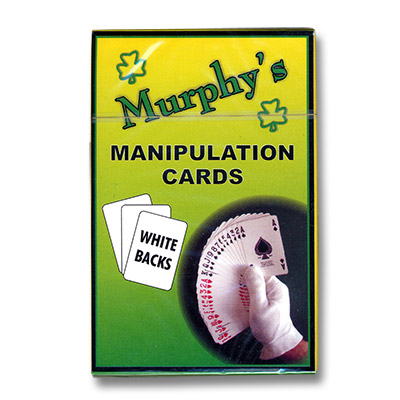 Manipulation Cards - WHITE BACKS(For Glove Workers) by Trevor Duffy