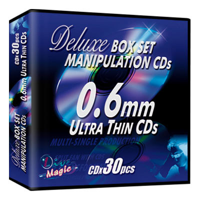 Manipulation CDs Box Set (Deluxe) by Live Magic - Trick