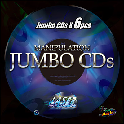 Manipulation Jumbo CDs by Live Magic- Trick