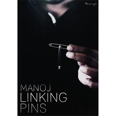 Manoj Linking Pins (Gimmicks and DVD) by Manoj Kaushal - Trick