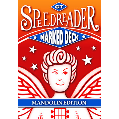 GT Speedreader Marked Deck (809 Mandolin Blue Back) - Trick