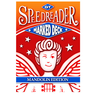 GT Speedreader Marked Deck (809 Mandolin Red Back) - Trick