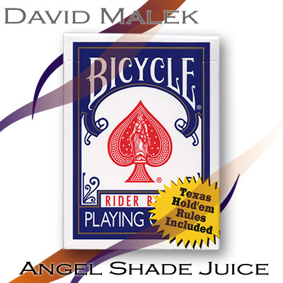 Cartas Bicycle - Marcadas - Azul - David Malek