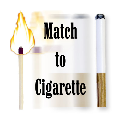 Match To Cigarette by David Powell - Trick