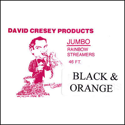 Mouth Coil 46 ft by David Cresey (Black and Orange) - Trick