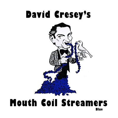 Mouth Coil 46 ft (Blue) by David Cresey - Trick