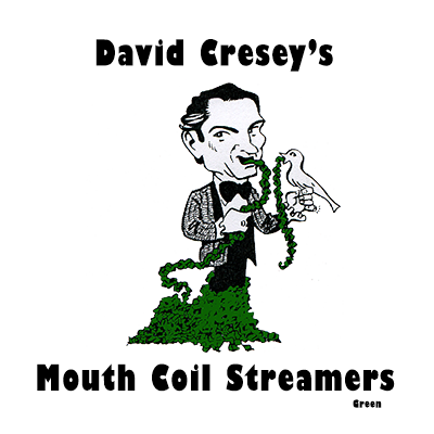 Mouth Coil 46 ft (green) by David Cresey - Trick