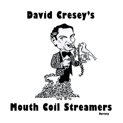 Mouth Coil 46 ft (Holiday Variety Pack) by David Cresey - Trick