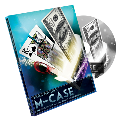 M-Case Blue (DVD and Gimmick) by Mickael Chatelain - Trick