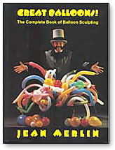 Merlin's Great Balloons book