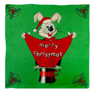 """Merry Xmas 24"""" Silk"""