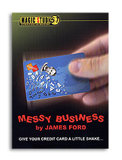 Messy Business Credit Card trick  James Ford & Magic Studio
