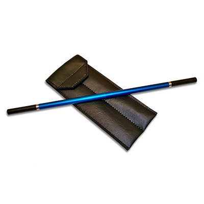 Metal Wand (Blue) by Joe Porper - Trick