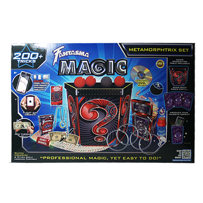 Metamorphtrix - Kit de Magia para Ninos - Fantasma Magic