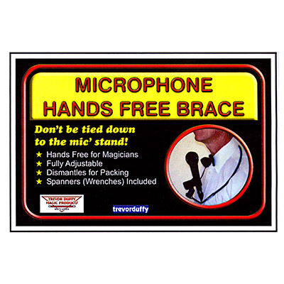 Microphone Hands Free Brace by Trevor Duffy