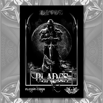 Midnight Edition Blades Playing Cards (Limited Edition) by De'Vo - Trick