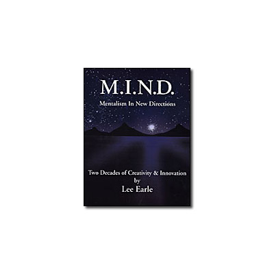 Mentalism In New Directions by Lee Earle - Book