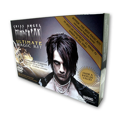 Mindfreak Ultimate Magic Kit by Criss Angel - Trick