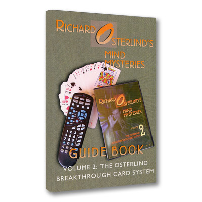 Mind Mysteries Guide Book Vol. 2: The  Breakthrough Card System by Richard Osterlind - Book