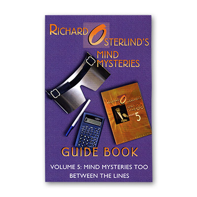 Mind Mysteries Guide Book Vol. 5 by Richard Osterlind - Book