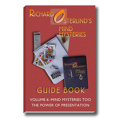 Mind Mysteries Guide Book Vol. 6 by Richard Osterlind - Book