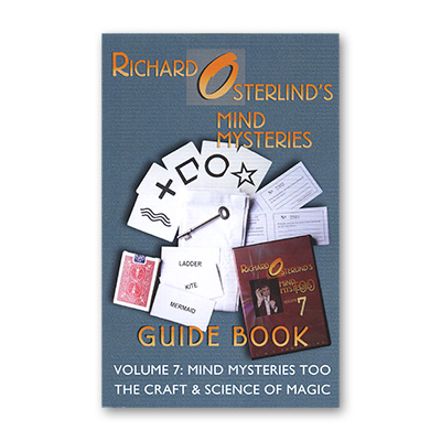 Mind Mysteries Guide Book Vol. 7 by Richard Osterlind - Book