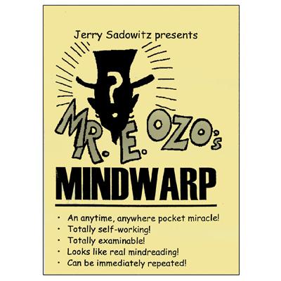 MindWarpt by Jerry Sadowitz - Trick