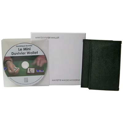 The Mini Duvivier Wallet (With DVD) - Mayette Magie Moderne -Trick