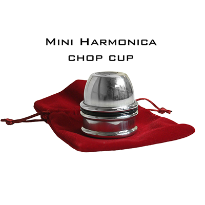 Mini Harmonica Chop Cup (Aluminum) by Leo Smetsers - Trick