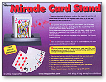 Miracle Card Stand/Henry