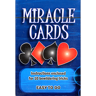 Miracle Cards (stripper deck) by Vincenzo Di Fatta - Tricks