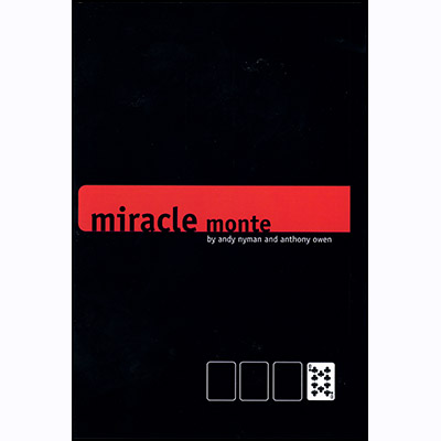 Miracle Monte (With DVD) by Andy Nyman and Anthony Owen - Trick