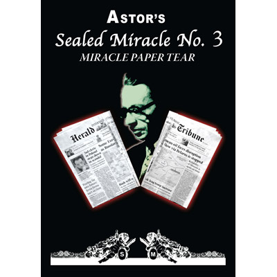 Miracle Paper Tear (Sealed Miracle No.3) by Astor - Trick