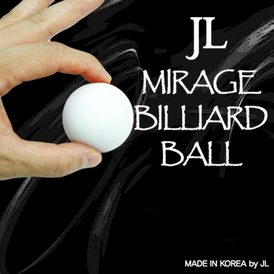 Two in Mirage Billiard Balls - JL (WHITE, single ball only)