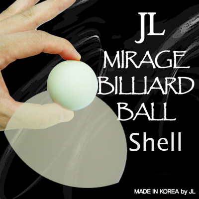 Mirage Billiard Balls by JL (GLOW IN THE DARK, shell only) - Trick