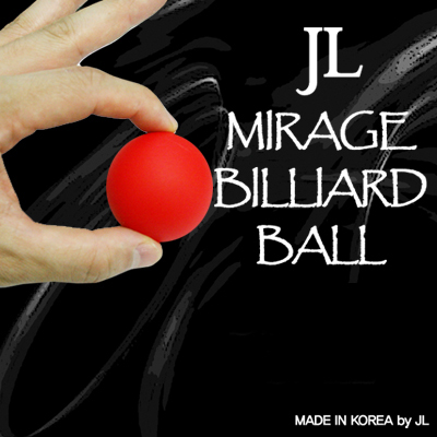 Mirage Billiard Balls by JL (RED, single ball only) - Trick