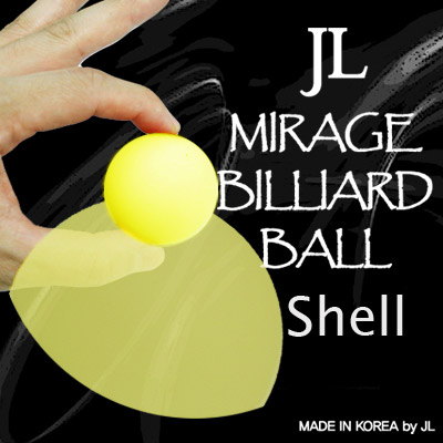 Mirage Billiard Balls by JL (Yellow, shell only) - Trick