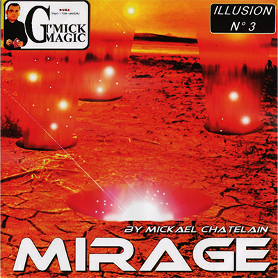 Mirage (Red) by Mickael Chatelain - Trick