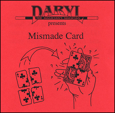 Mismade Card by Daryl - Trick