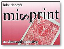 Misprint trick