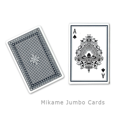 Jumbo Cards by Mikame - Trick