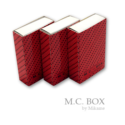 MC Box (3 boxes) by Mikame - Trick