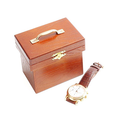 Watch and Bread Box by Mikame - Trick