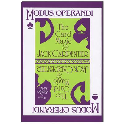 Modus Operandi by Jack Carpenter - Book