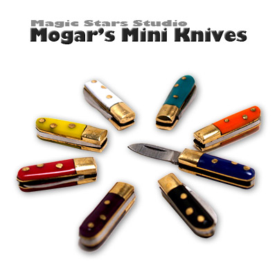 Mogar Mini Knives Smash Climax (6 Colors) - Trick