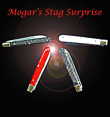 Mogar's Stag Surprise (4 Knives) - Trick