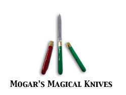 Mogars Magical 3 Knife Routine (3 knife) set