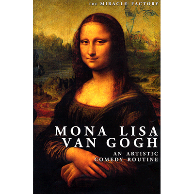 Mona Lisa Van Gogh by Miracle Factory - Trick